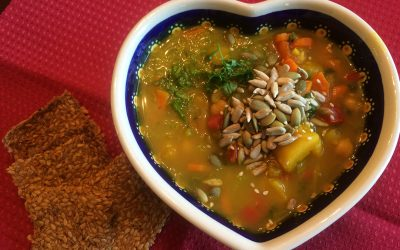 Butternut Squash Vegetable Soup